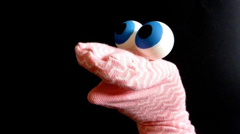 marionnette chaussette