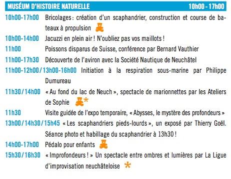 Journée des musées 2016
