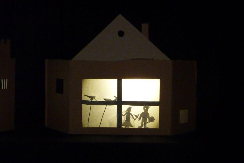 anniversaire théâtre d'ombres marionnettes les ateliers de sophie