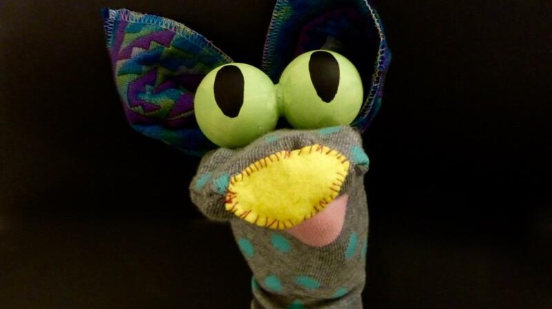 marionnette chaussette atelier enfants
