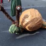 Escargot marionnette