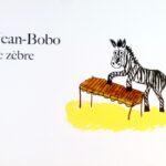 Jean-Bobo le zèbre livre pour enfants