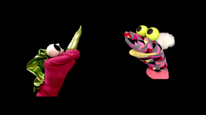 marionnettes chaussettes famille
