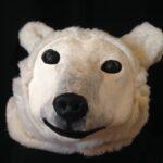 masque ours polaire les ateliers de sophie reinmann