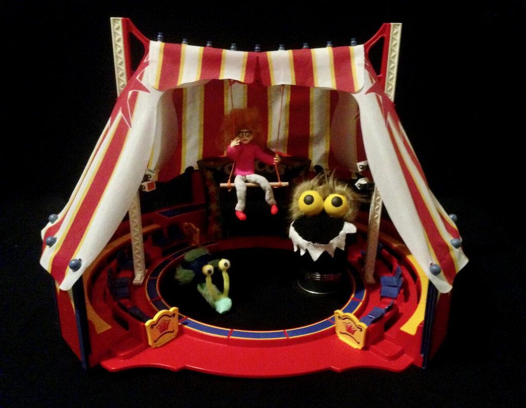 atelier marionnettes cirque