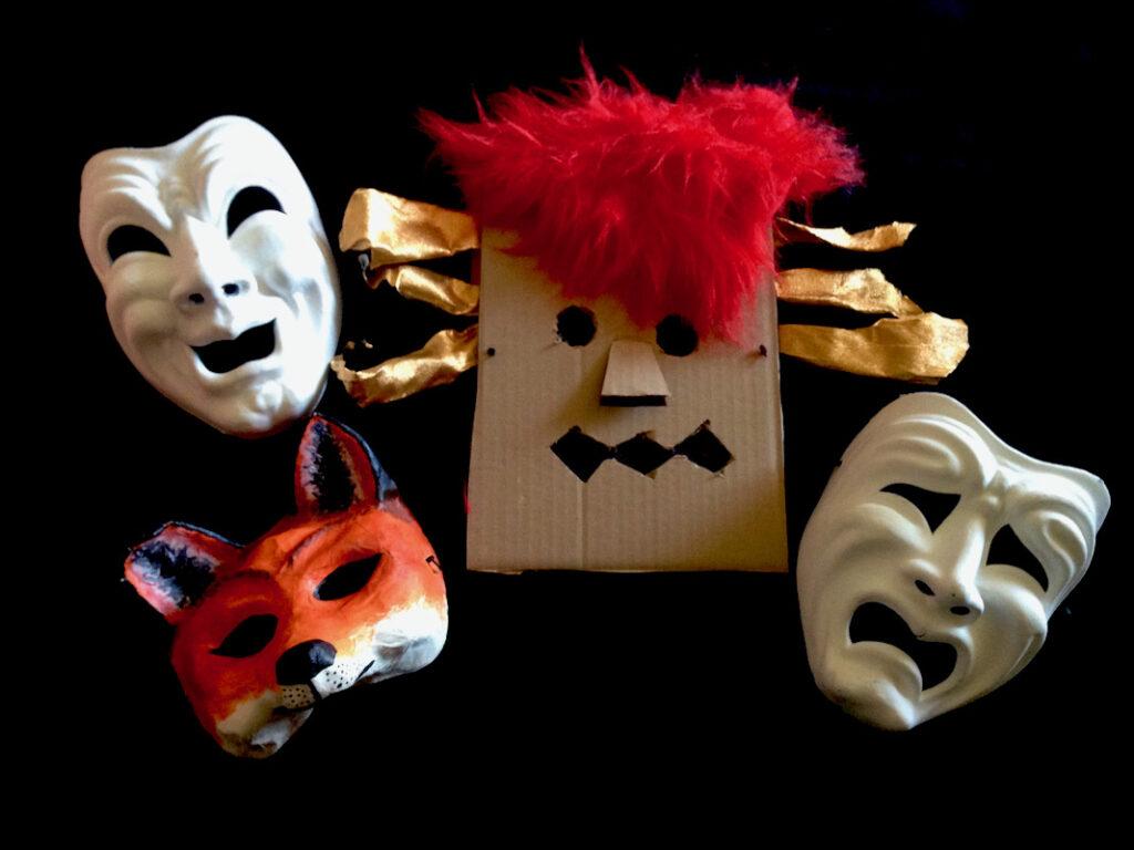 atelier masques enfants